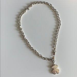 Classic Tous bear necklace